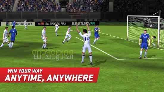 دانلود FIFA Soccer 8.1.00 بازی انلاین فوتبال فیفا ساکر اندروید 2
