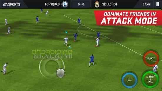 دانلود FIFA Soccer 8.1.00 بازی انلاین فوتبال فیفا ساکر اندروید 4