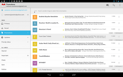 دانلود Gmail 7.9.10.169126262 اتصال و مدیریت جیمیل اندروید 1