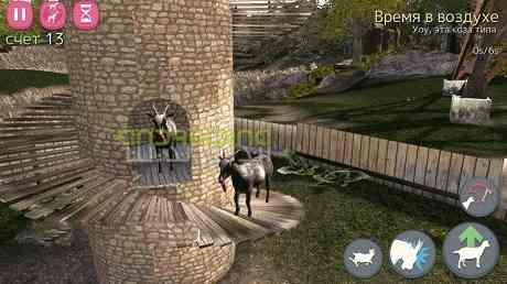 دانلود Goat Simulator 1.4.9 بازی شبیه ساز بز اندروید + دیتا 1