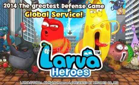 Larva Heroes Lavengers – قهرمانان لاروا، لونجرز