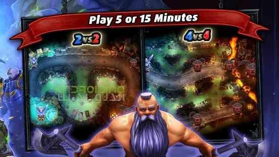 دانلود Heroes of SoulCraft – MOBA 1.7.1 بازی قهرمانان سول کرفت اندروید 2
