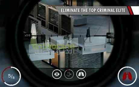 دانلود Hitman Sniper 1.7.98572 بازی هیتمن، تک تیرانداز اندروید + دیتا 1
