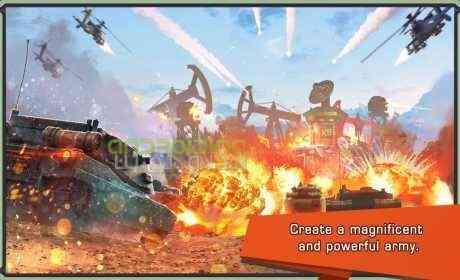 Iron Desert: Fire Storm – کویر آهن، طوفان آتش