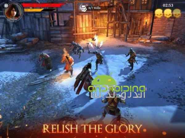 Iron Blade – Medieval Legends – بازی انلاین شمشیر آهنی، افسانه های قرون وسطی اندروید