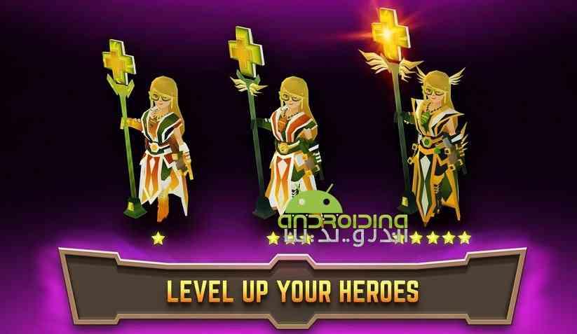 دانلود Legacy Quest Rise of Heroes 1.2.40 بازی تلاش اسطوره ای، ظهور قهرمانان اندروید 4