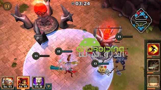 Legendary Heroes MOBA – قهرمانان افسانه ای اندروید