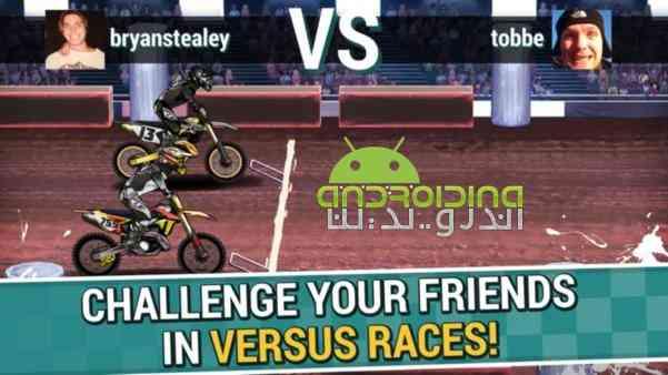 دانلود Mad Skills Motocross 2 2.6.1 بازی مهارت های دیوانه وار 2 اندروید 3