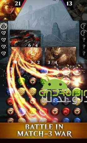 دانلود Magic Puzzle Quest 1.10.0.14545 بازی جادو، تلاش برای پازل اندروید 2