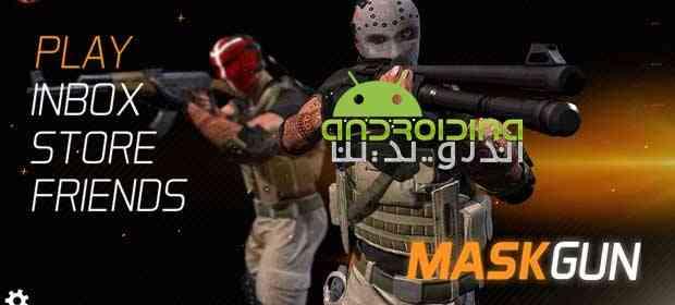 دانلود Maskgun Multiplayer FPS 2.061 بازی تیراندازی مولتی پلیر اندروید 1
