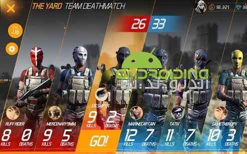 MaskGun Multiplayer FPS – تیراندازی مولتی پلیر