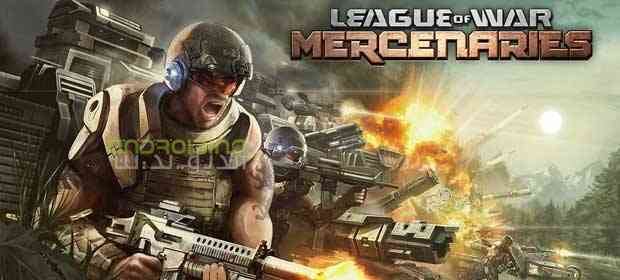 League of War: Mercenaries – لیگ جنگ: مزدورها