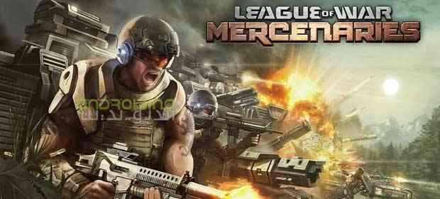 League of War: Mercenaries – لیگ جنگ: مزدورها