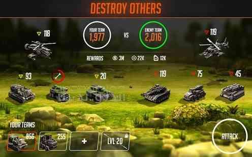 دانلود League of War Mercenaries 7.4.56 بازی لیگ جنگ: مزدورها 3