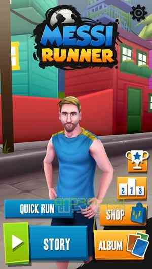 Messi Runner – مسی دونده