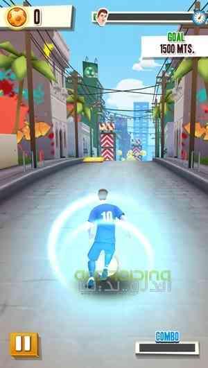 دانلود Messi Runner 2.0.2 بازی مسی دونده اندروید 2