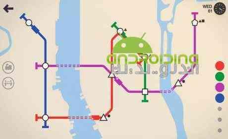 Mini Metro – مترو کوچک