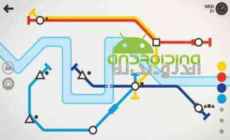 دانلود Mini Metro 1.3.2 بازی فکری مترو کوچک اندروید 2
