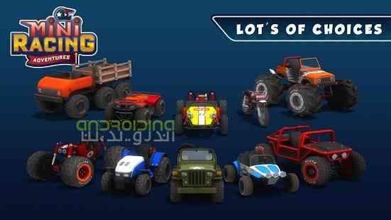 دانلود Mini Racing Adventures 1.14.2 بازی ماجراجویی در مسابقات کوچک اندروید 2