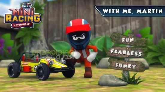 دانلود Mini Racing Adventures 1.14.2 بازی ماجراجویی در مسابقات کوچک اندروید 3