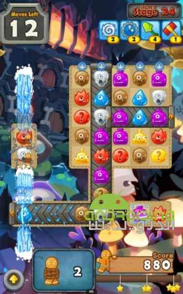 MonsterBusters Match 3 Puzzle – بوسترهای هیولایی اندروید
