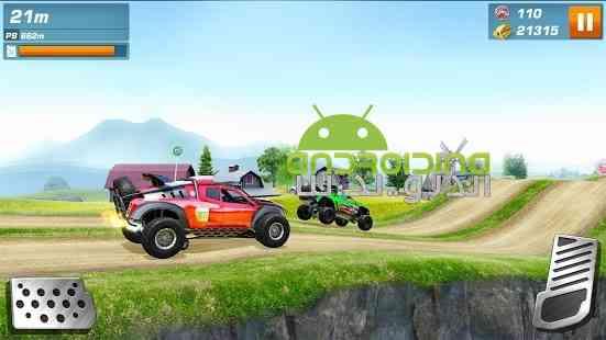 Monster Truck Racing – مسابقات ماشین های هیولایی