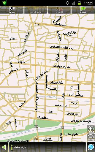 GPS آفلاین اندرویدبه همراه نسخه جدید  دانلود جی پی اس ناویتل برای آندروید