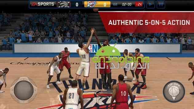 NBA LIVE Mobile – بسکتبال آنلاین ان بی ای اندروید