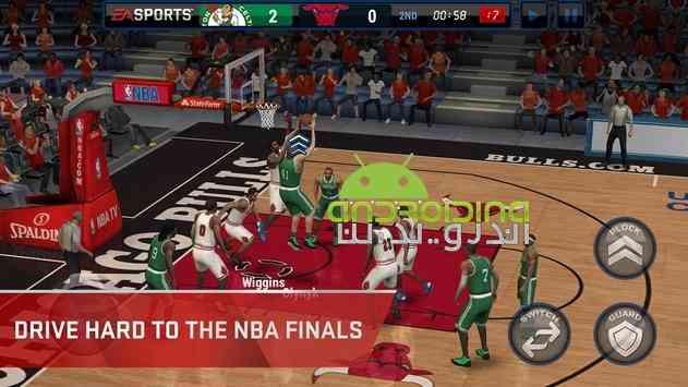 دانلود NBA LIVE Mobile Basketball 2.0.5 بازی بسکتبال آنلاین ان بی ای 3