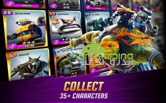 دانلود Ninja Turtles Legends 1.9.13 بازی افسانه لاکپشت های نینجا اندروید 2