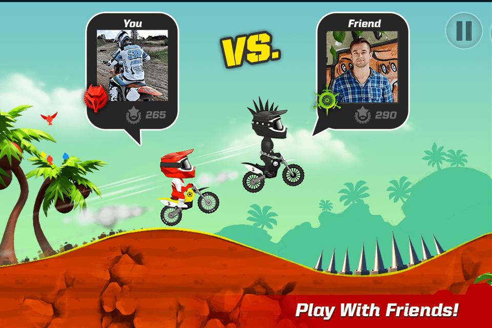 دانلود Bike Up! 1.0.1.61 بازی اعتیاد اور دوچرخه بالا اندروید 2