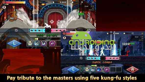 دانلود One Finger Death Punch 5.0.0 بازی مشت کشنده یک انگشتی اندروید 3