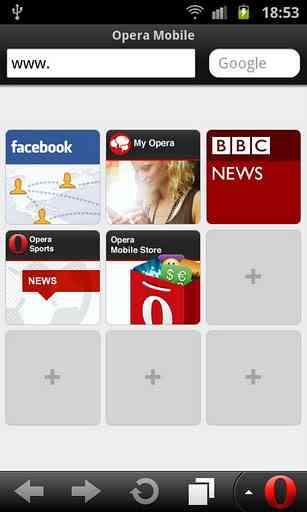 Opera Mini web browser | مرورگر معروف اوپرا مینی اندروید