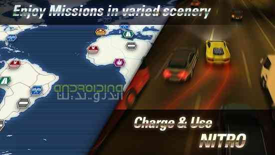 دانلود Overtake Traffic Racing 1.36 بازی رانندگی در ترافیک اندروید + دیتا 2