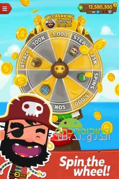 Pirate Kings – پادشاهان دزدان دریایی اندروید