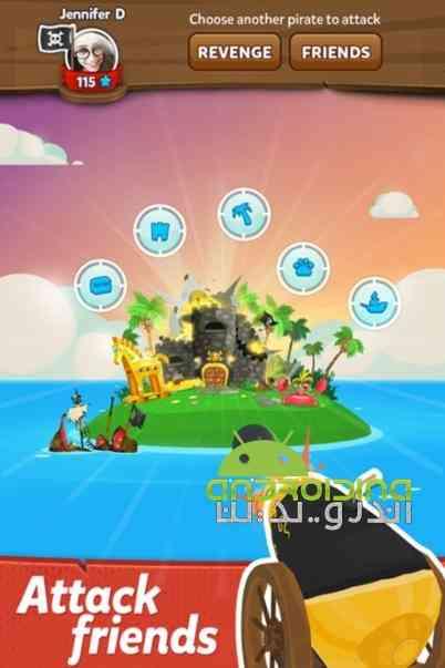 دانلود Pirate Kings 3.1.0 بازی انلاین پادشاهان دزدان دریایی اندروید 3