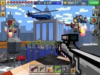 Pixel Gun 3D – تفنگ پیکسلی سه بعدی