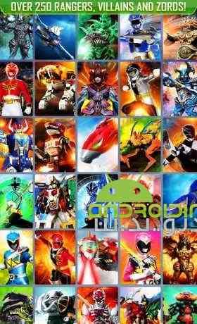 دانلود Power Rangers UNITE 1.3.0 بازی تکاوران قدرت، واحد اندروید + دیتا 2
