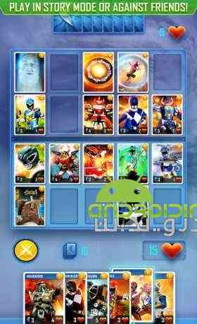 دانلود Power Rangers UNITE 1.3.0 بازی تکاوران قدرت، واحد اندروید + دیتا 3