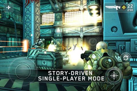 دانلود SHADOWGUN v1.5.0 بازی فوقالعاده زیبا و جنگی شادوگان اندروید 2