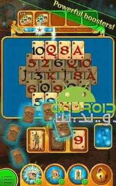 دانلود Pyramid Solitaire Saga 1.57.0 بازی حماسه یک نفره هرمی اندروید 3