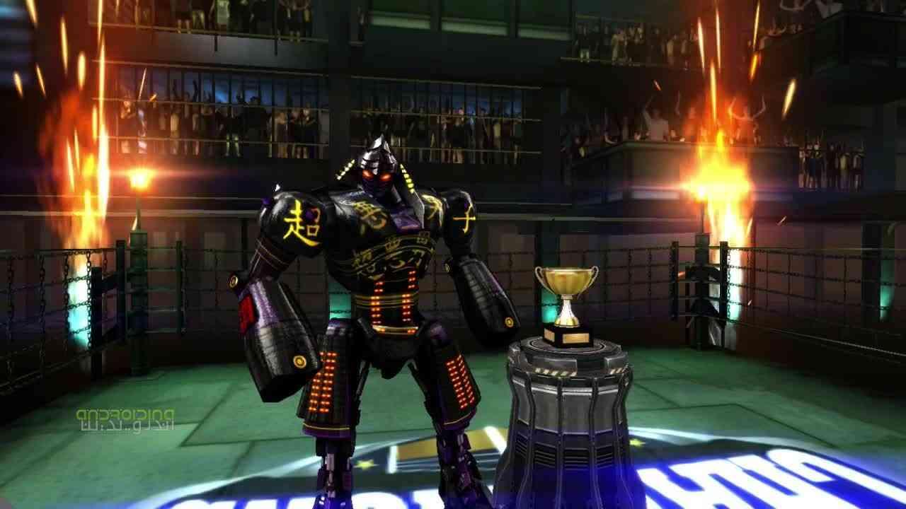دانلود Real Steel Boxing Champions 1.0.356 بازی فولاد واقعی، قهرمانی بوکس 1