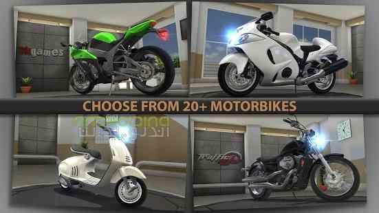 دانلود Traffic Rider 1.4 بازی رانندگی در ترافیک اندروید 4