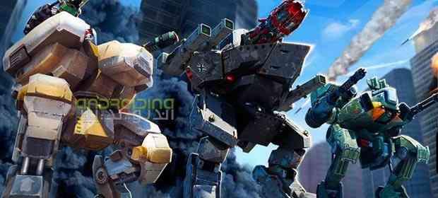 دانلود Walking War Robots 2.9.0 بازی حرکت ربات های جنگی اندروید 2