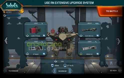 دانلود Walking War Robots 2.9.0 بازی حرکت ربات های جنگی اندروید 1