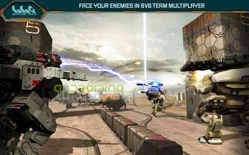 Walking War Robots – حرکت ربات های جنگی