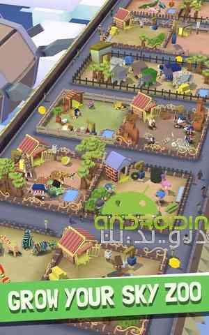 Rodeo Stampede Sky Zoo Safari – رام کردن حیوانات اندروید