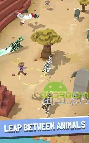 دانلود Rodeo Stampede Sky Zoo Safari 1.12.1 بازی رام کردن حیوانات اندروید 4