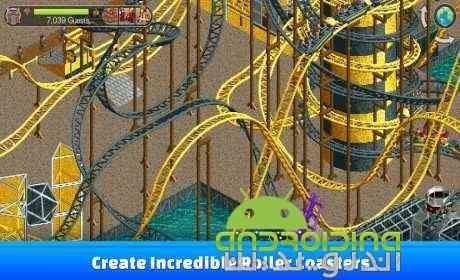 دانلود RollerCoaster Tycoon® Classic  بازی سرمایه داران کشتی غلطان اندروید + دیتا 2