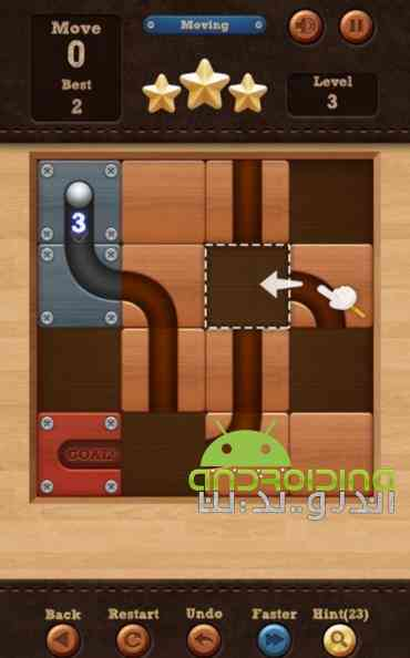 Roll the Ball - slide puzzle – توپ را بچرخان اندروید